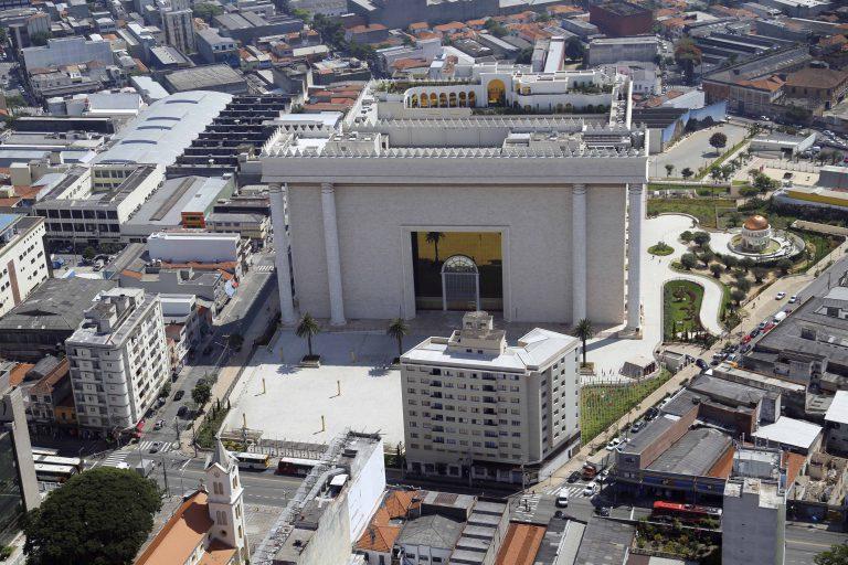 Foto Aérea Templo Rei Salomão - Brás - SP