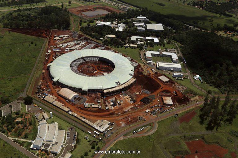 Fotografias Aéreas da Obra do Acelerador de Partículas Sirius