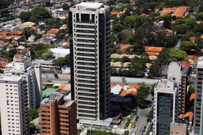 Fotografia Aérea Edifício - Campo Belo - SP