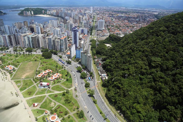 Fotografias Aéreas em Santos - SP