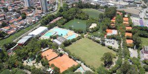 Embrafoto Fotos Aéreas Clube Esportivo da Penha - São Paulo - SP
